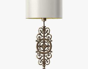3D asset LuxDeco Prague Bronze Table Lamp