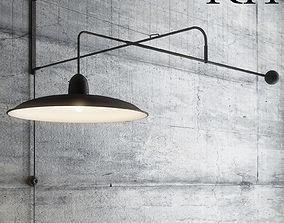 Wall lamp RH 3D model
