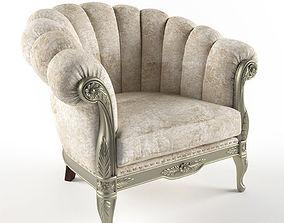 armchair classic 3D print model