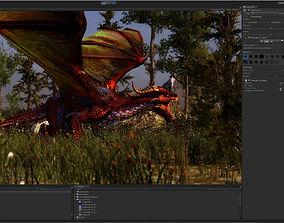 3Dfoin - Dragon Boss animated