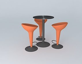 3D model TABLE COCKTAIL