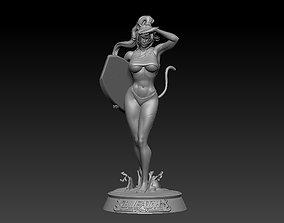 Yoruichi from Bleach 3D print model