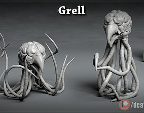 Grell - 3D Printable Monster - 2 Poses