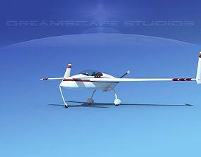 3D model Rutan VariEze V05