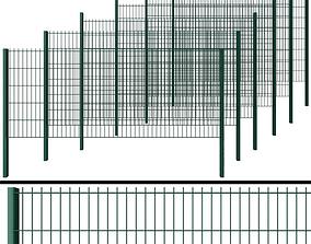 Wicket fence 3D model