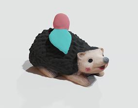 3D print model Garden Hedgehog statue