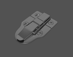 Chest Latch 3D model