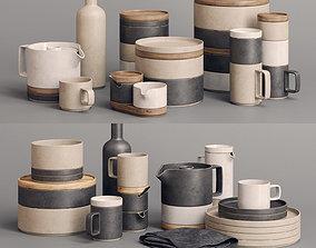 3D model Hasami Porcelain Sets bowl