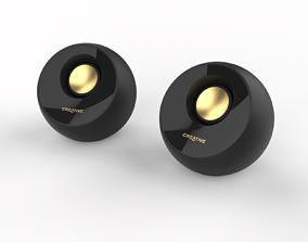 Creative Pebble Desktop PC Speakers 3D model