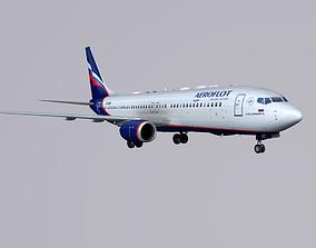 3D model Boieng 737-800 Aeroflot