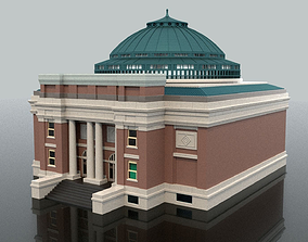 3D Libary auditorium