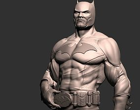 Batman Figure Posed by Evil Raz 3D