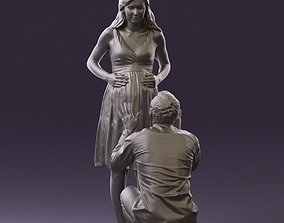 Man and pregnant woman 0771 3D Print Ready