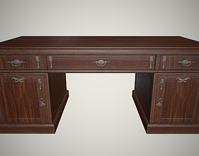 3D asset Big carved table