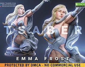 Emma Frost Bust - Xmen Mervel 3D print model