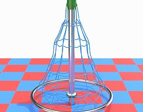Childrens playground rope mesh 3D model