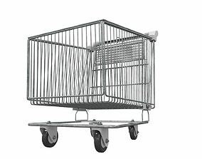 Shopping cart 5 3D model