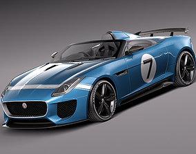 3D model Jaguar Project 7 Concept 2013