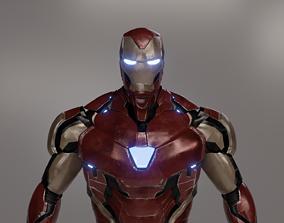 Ironman mk85 3D model