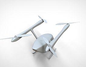 industrial 3D model Drone