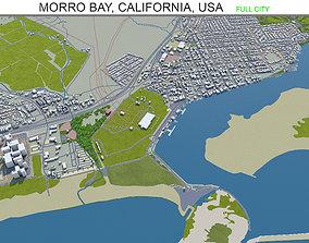 Morro Bay California USA 15km 3D model