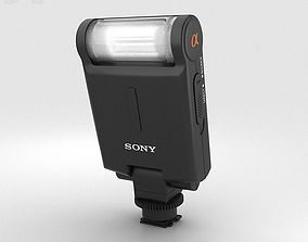 Sony HVL-F20M External Flash 3D