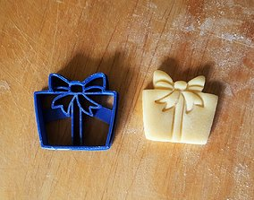 3D printable model Gift cookie cutter