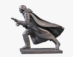 Soldier Sculpture 3D