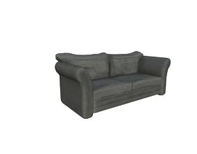 3D asset cushion sofa
