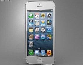 Apple iPhone 5 3D asset