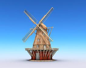3D asset Copenhagen Windmill