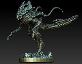 3D King alien statue