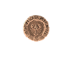 3D print model Medal Astro Cancer