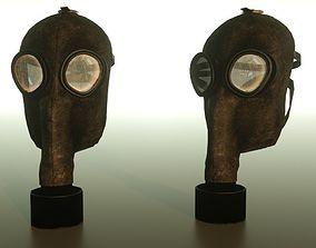 3D asset Gas mask