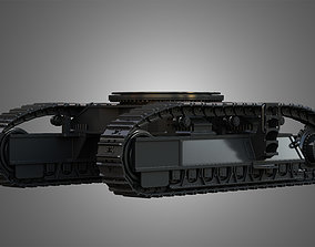 Tracks - Hydraulic Mining Shovel - 3D model