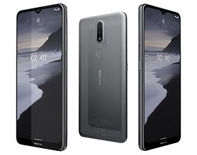 3D Nokia 2 4 Charcoal