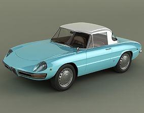 3D model Alfa Romeo Duetto Hardtop