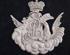 3D printable model coat of arms 1