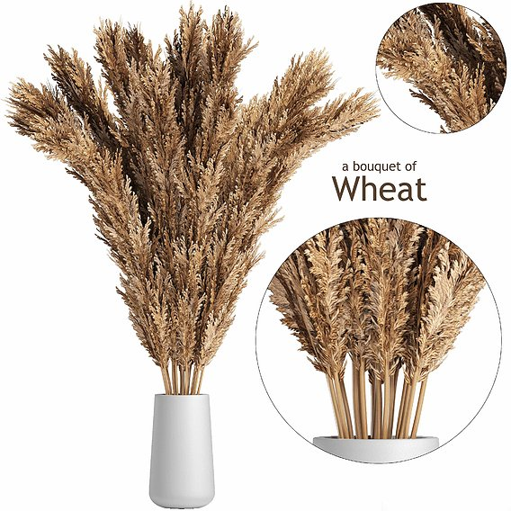 A bouquet of wheat