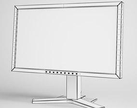 Flatscreen Monitor 20 3D model