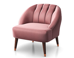 3D model Margot accent armchair by Made