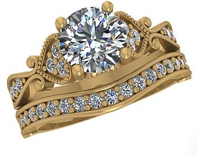 The Vintage Collection Diomand Ring 3d Model