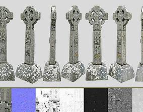 3D model Celtic Stone Cross
