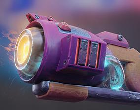 3D model Stylized Blaster