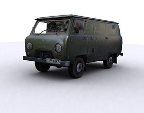 3D asset UAZ 452