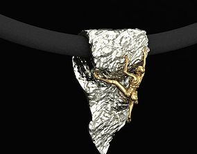 3D print model Climber female pendant