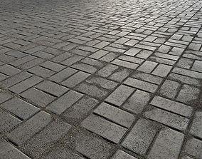 3D model Paving bricks