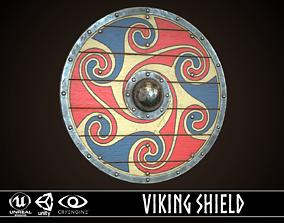 3D asset Viking Shield 07