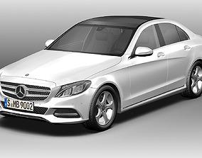 3D 2014 Mercedes Benz C Class