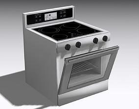Oven 001 3D asset